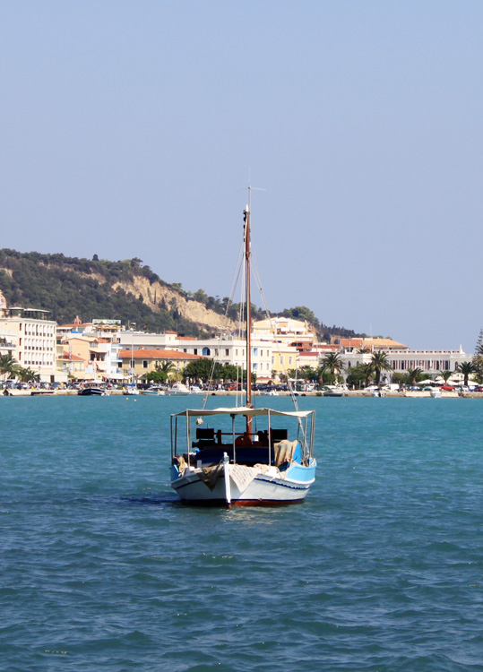 Лодка в Закинтосе