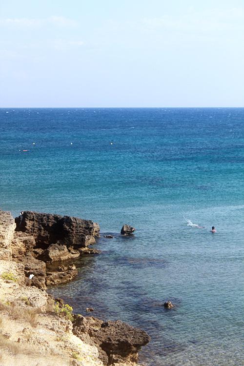 Вид на море на пляже Банана Бич