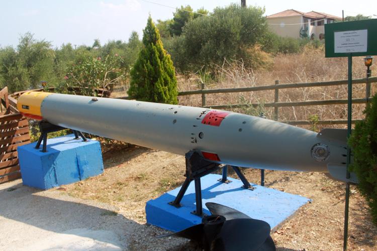Торпеда в Морском музеи Циливи