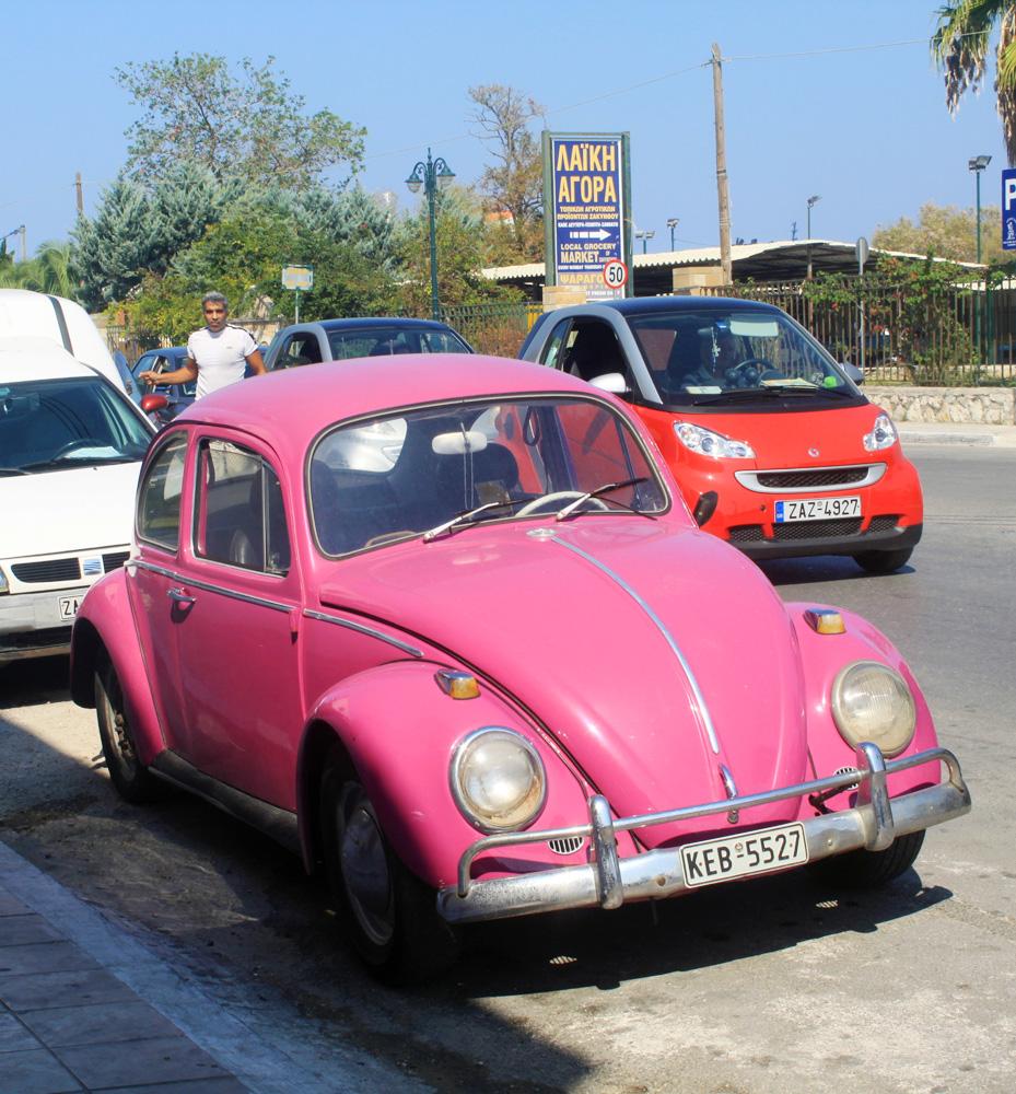 Розовый раритет в Закинтосе