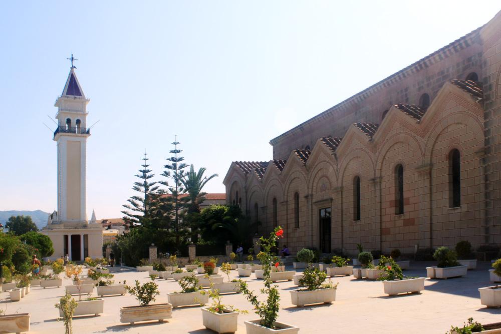Храм Святого Дионисия в Закинтосе